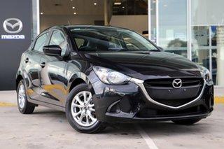 2015 Mazda 2 DJ2HAA Maxx SKYACTIV-Drive Black 6 Speed Sports Automatic Hatchback.
