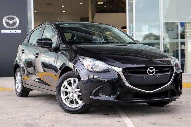 Used Mazda 2 DJ2HAA Maxx SKYACTIV-Drive Kirrawee, 2015 Mazda 2 DJ2HAA Maxx SKYACTIV-Drive Black 6 Speed Sports Automatic Hatchback
