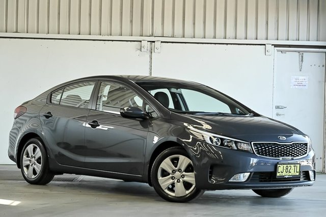 Used Kia Cerato YD MY17 S Laverton North, 2016 Kia Cerato YD MY17 S Grey 6 Speed Sports Automatic Sedan
