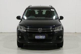 2012 Volkswagen Tiguan 5NC MY12 132 TSI Pacific Black 6 Speed Automatic Wagon.