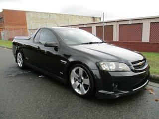 2007 Holden Ute VE SS Black 6 Speed Manual Utility.