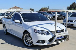 2013 Ford Falcon FG MkII XR6 Ute Super Cab EcoLPi White 6 Speed Sports Automatic Utility.