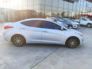 2011 Hyundai Elantra MD Active Silver 6 Speed Sports Automatic Sedan.