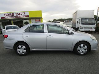 2010 Toyota Corolla ZRE152R MY10 Ascent Silver 4 Speed Automatic Sedan