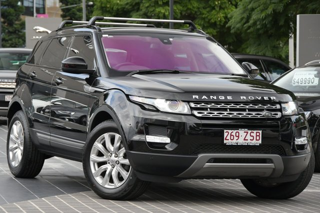 Used Land Rover Range Rover Evoque L538 MY14 Pure Newstead, 2014 Land Rover Range Rover Evoque L538 MY14 Pure Black 9 Speed Sports Automatic Wagon