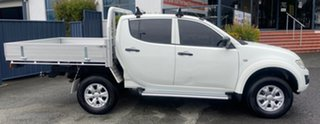 2015 Mitsubishi Triton MN MY15 GLX Double Cab White 5 Speed Manual Utility