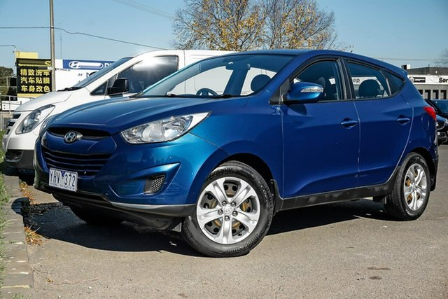 Used Hyundai ix35 LM MY12 Active Nunawading, 2011 Hyundai ix35 LM MY12 Active Blue 6 Speed Sports Automatic Wagon