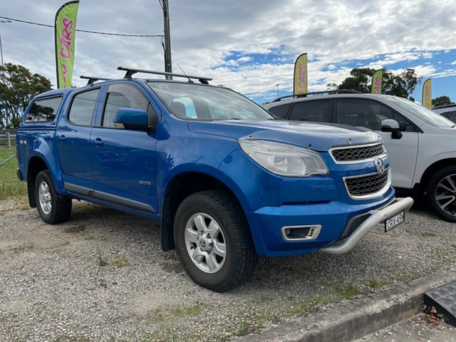 Used Holden Colorado RG MY13 LTZ Crew Cab Glendale, 2013 Holden Colorado RG MY13 LTZ Crew Cab Blue 6 Speed Sports Automatic Utility