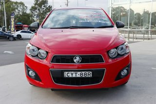 2015 Holden Barina TM MY16 X Blaze Red 6 Speed Automatic Hatchback