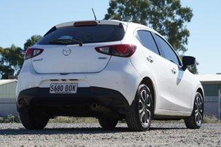 2016 Mazda 2 DJ2HAA Genki SKYACTIV-Drive White 6 Speed Sports Automatic Hatchback
