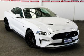 2020 Ford Mustang FN MY20 GT 5.0 V8 White 10 Speed Automatic Fastback.