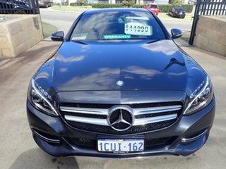 2015 Mercedes-Benz C200 205 MY16 Tenorite Grey 7 Speed Automatic Sedan.
