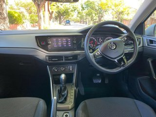 2018 Volkswagen Polo AW MY19 70TSI DSG Trendline Silver 7 Speed Sports Automatic Dual Clutch