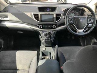 2016 Honda CR-V RM Series II MY17 VTi White 6 Speed Manual Wagon