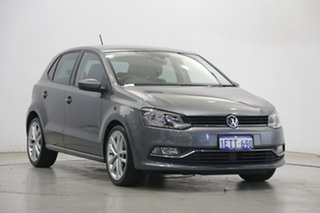 2015 Volkswagen Polo 6R MY16 81TSI DSG Comfortline Pepper Grey 7 Speed Sports Automatic Dual Clutch