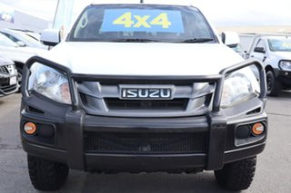 2015 Isuzu D-MAX MY15 SX Crew Cab White 5 Speed Manual Cab Chassis