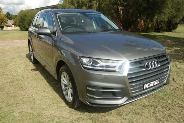 Used Audi Q7 4M MY16 TDI Tiptronic Quattro East Maitland, 2016 Audi Q7 4M MY16 TDI Tiptronic Quattro Grey 8 Speed Sports Automatic Wagon