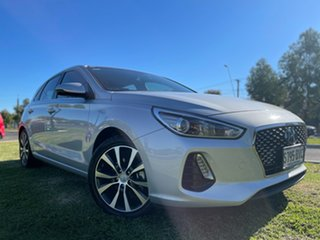 2018 Hyundai i30 PD2 MY19 Elite Silver 6 Speed Sports Automatic Hatchback.