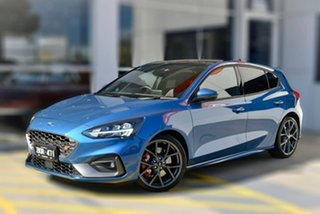 2020 Ford Focus SA 2020.25MY ST Blue 7 Speed Automatic Hatchback.