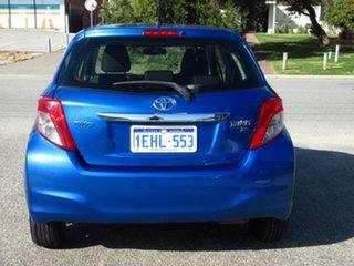2013 Toyota Yaris NCP130R YR Blue 4 Speed Automatic Hatchback