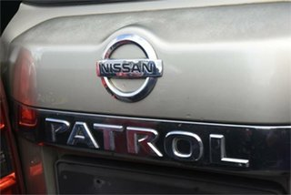 2007 Nissan Patrol GU IV MY06 ST Gold 5 Speed Manual Wagon