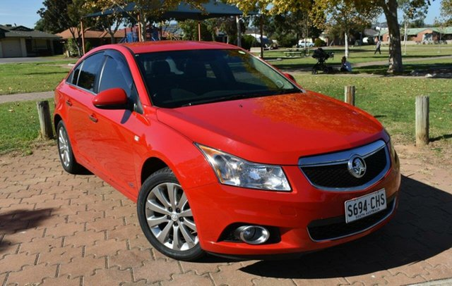 Used Holden Cruze JH Series II MY14 SRi Z Series Ingle Farm, 2014 Holden Cruze JH Series II MY14 SRi Z Series Red 6 Speed Sports Automatic Sedan