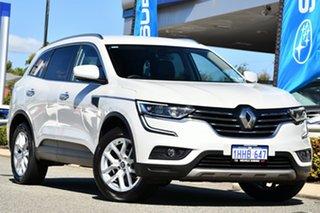 2016 Renault Koleos HZG Zen X-tronic White 1 Speed Constant Variable Wagon.