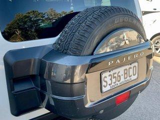 2012 Mitsubishi Pajero NW MY12 GLS White 5 Speed Sports Automatic Wagon