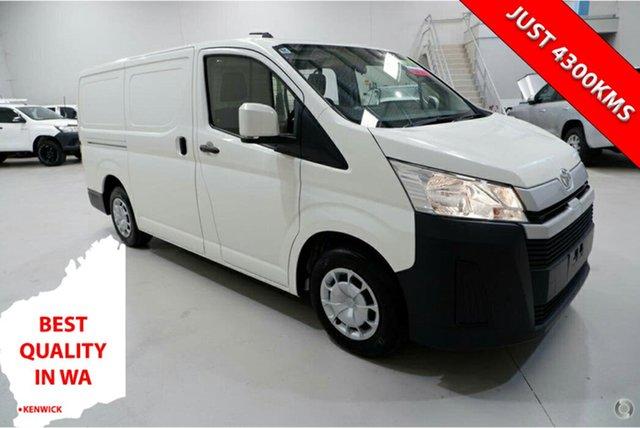Used Toyota HiAce GDH300R LWB Kenwick, 2020 Toyota HiAce GDH300R LWB White 6 Speed Sports Automatic Van