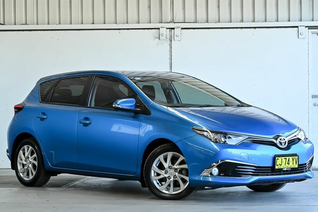 Used Toyota Corolla ZRE182R Ascent Sport S-CVT Laverton North, 2016 Toyota Corolla ZRE182R Ascent Sport S-CVT Blue 7 Speed Constant Variable Hatchback