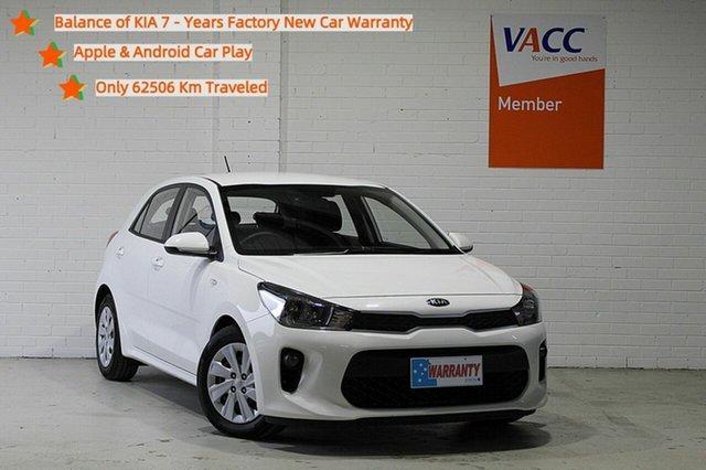 Used Kia Rio YB MY18 S Moorabbin, 2018 Kia Rio YB MY18 S White 4 Speed Sports Automatic Hatchback