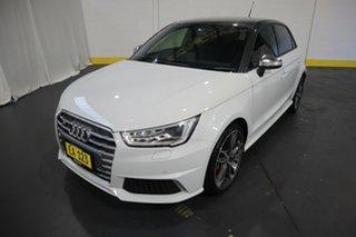2017 Audi S1 8X MY18 Sportback Quattro White 6 Speed Manual Hatchback