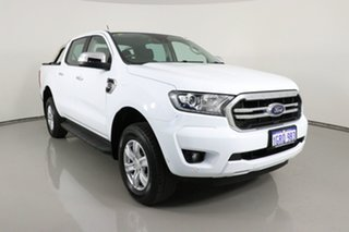 2018 Ford Ranger PX MkIII MY19 XLT 2.0 (4x4) White 10 Speed Automatic Double Cab Pick Up.