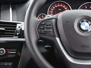 2016 BMW X3 F25 MY17 xDrive 20I Black 8 Speed Automatic Wagon
