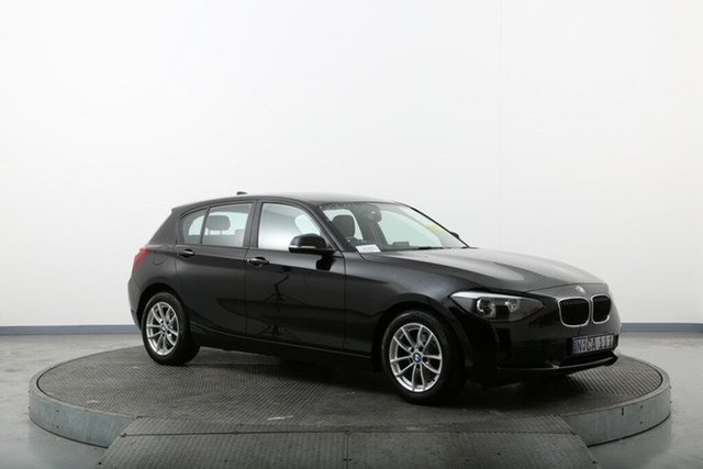 Used BMW 116i F20 116i Homebush, 2013 BMW 116i F20 116i Black 8 Speed Sports Automatic Hatchback