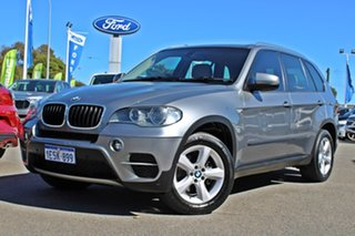 2010 BMW X5 E70 MY10 xDrive30d Steptronic Silver 6 Speed Sports Automatic Wagon.