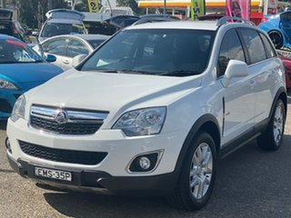 2012 Holden Captiva CG Series II MY12 5 AWD White 6 Speed Sports Automatic Wagon.