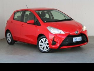 2019 Toyota Yaris NCP130R MY18 Ascent Cherry 4 Speed Automatic Hatchback.