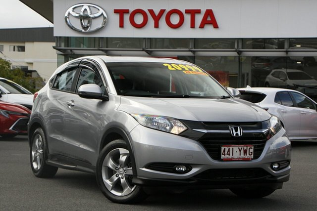 Pre-Owned Honda HR-V MY16 Limited Edition Upper Mount Gravatt, 2016 Honda HR-V MY16 Limited Edition Silver 1 Speed Constant Variable Hatchback