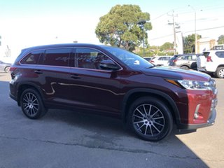 2019 Toyota Kluger GSU50R Grande 2WD Deep Red 8 Speed Sports Automatic Wagon.