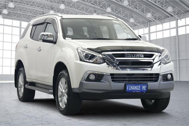 Used Isuzu MU-X MY18 LS-T Rev-Tronic 4x2 Victoria Park, 2018 Isuzu MU-X MY18 LS-T Rev-Tronic 4x2 White 6 Speed Sports Automatic Wagon