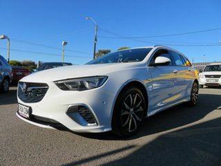 2017 Holden Commodore ZB RS White 9 Speed Automatic Sportswagon.
