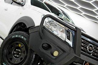 2017 Nissan Navara D23 Series II RX (4x4) White 7 Speed Automatic Double Cab Utility.