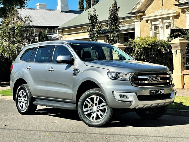 Used Ford Everest UA Trend Hyde Park, 2016 Ford Everest UA Trend Silver 6 Speed Sports Automatic SUV