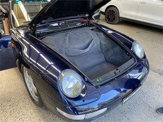 1995 Porsche 911 993 Carrera 4 Midnight Blue Manual Cabriolet