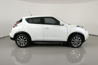 2017 Nissan Juke F15 Series 2 TI-S (AWD) White Continuous Variable Wagon