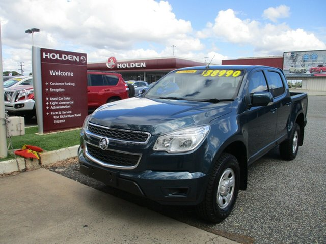 Used Holden Colorado RG MY15 LS Crew Cab North Rockhampton, 2015 Holden Colorado RG MY15 LS Crew Cab Blue 6 Speed Sports Automatic Utility