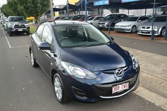 Used Mazda 2 DJ Maxx Toowoomba, 2014 Mazda 2 DJ Maxx Blue 6 Speed Automatic Hatchback