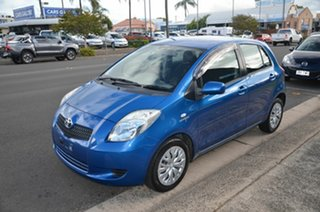 2008 Toyota Yaris NCP91R YRS Blue 4 Speed Automatic Hatchback