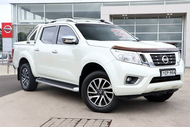 Used Nissan Navara D23 ST-X Liverpool, 2016 Nissan Navara D23 ST-X White Diamond 7 Speed Sports Automatic Utility